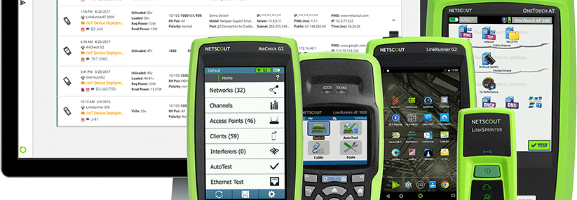 Netscout banner instruments